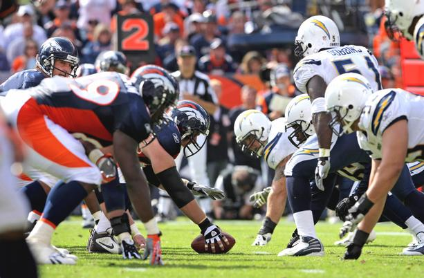 Tonight S Monday Night Football Match Up San Diego Chargers Vs