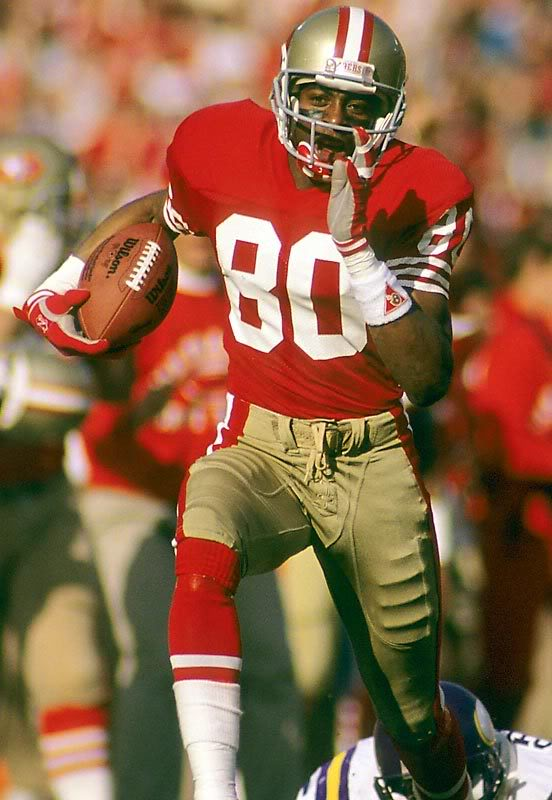 on this day in sports jerry rice becomes first nfl player