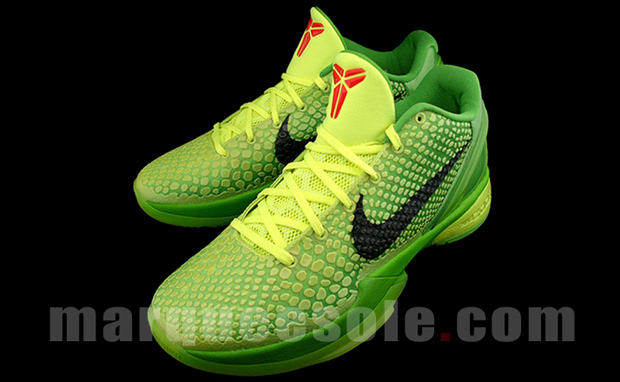 kobe 6 grinch. its the Grinch or Kobe#39;s